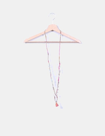 Collar combinado flecos NoName