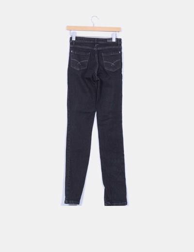 Jeans denim negro slim fit