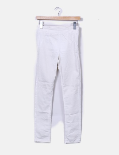Jeggings denim blanco