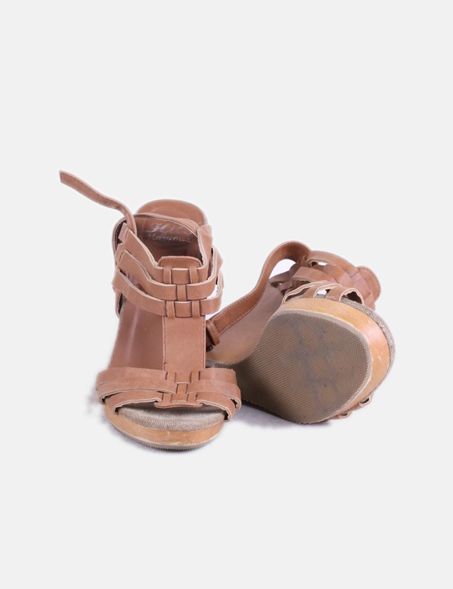 Marypaz De Required Sandalias Mujer Cuña Zapatos Gwvexfqfw Madera SMVqzUp