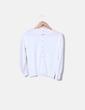 Suéter tricot blanco botones perla El Corte Inglés