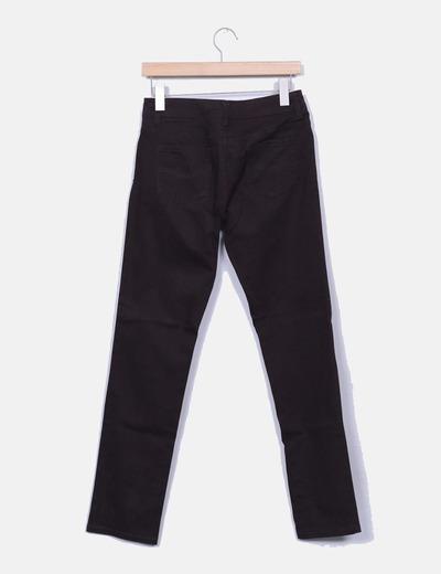Pantalon denim marron