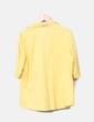 Camisa satinada amarilla Elena Miró