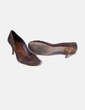 Chaussure marron pointe arrondie Stradivarius