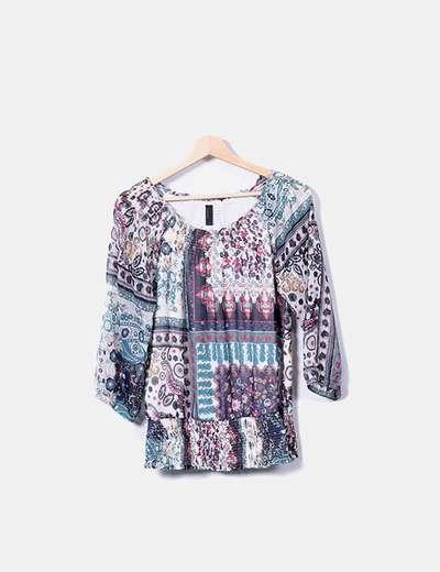 Multicolor patterned shirt Vero Moda