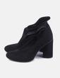 Botín calcetín negro con tacón Marypaz