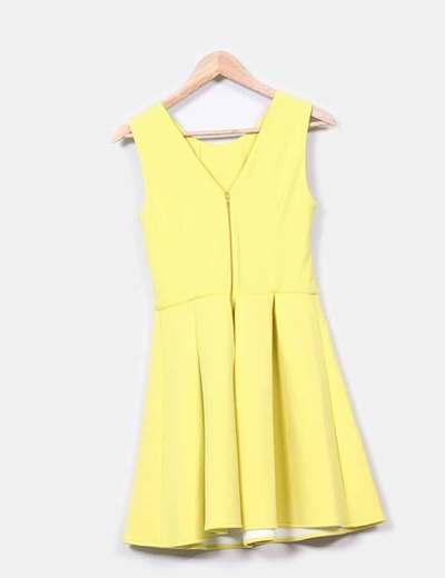 Vestido amarillo nepreno