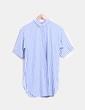 Camisola de rayas azul y blanco Zara
