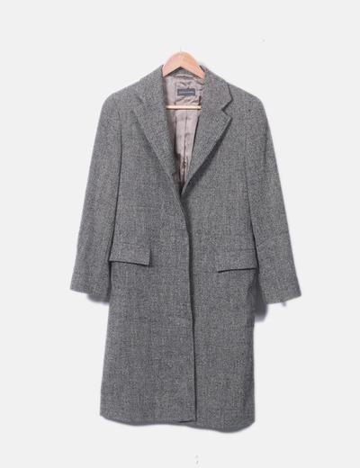 Abrigo largo espiga