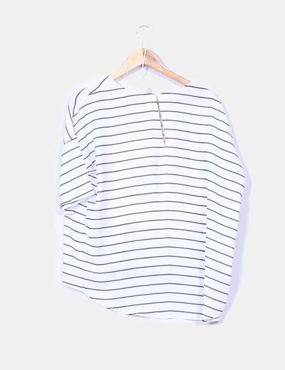 Blusa de rayas print