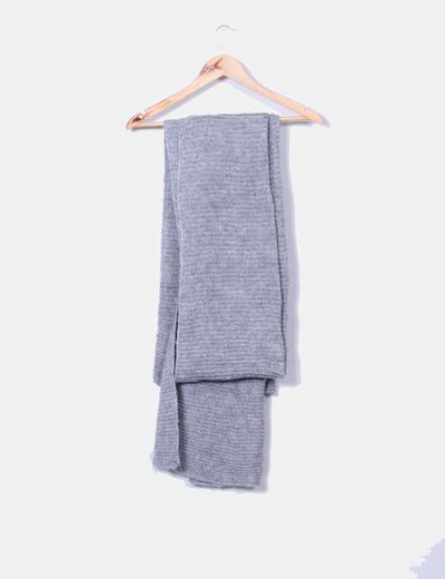 Écharpe grise super long Zara