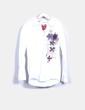 Chemise blanche latérale Desigual
