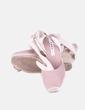 Sandalia cuña esparto color nude Zara