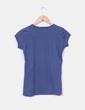 Camiseta azul petróleo con strass Styled in Italy