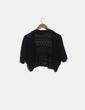Torera crochet negra Canda