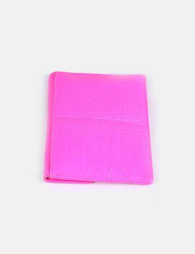 Cartera rosa fluor
