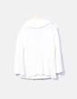 Chaqueta tricot beige abotonada Cozy casual