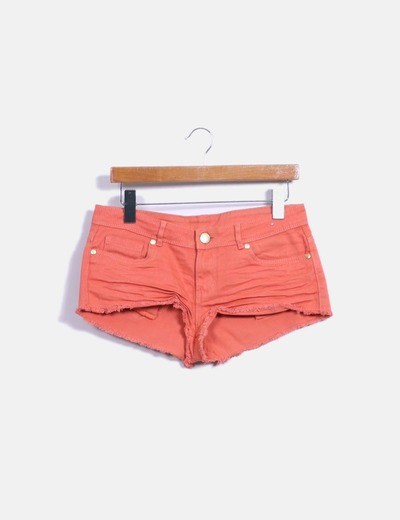 Short denim coral Denim Co.