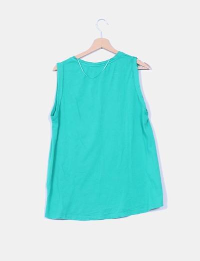 Camiseta sin tirantes oversize
