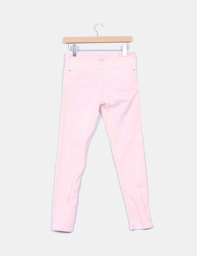 Pantalon vaquero rosa