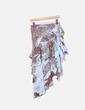 Conjunto de top y falda con abalorios NoName