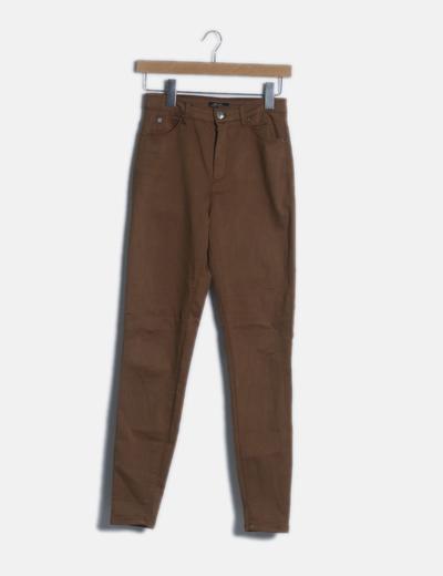 Jeans marrón skinny