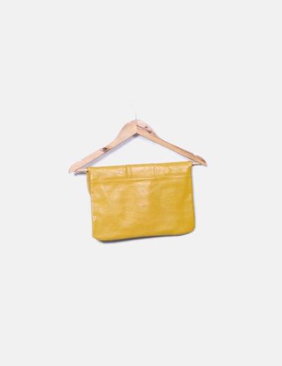 Bolso amarillo combinado