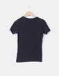 Camiseta básica negra Zara