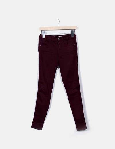 Bershka cigarette trousers