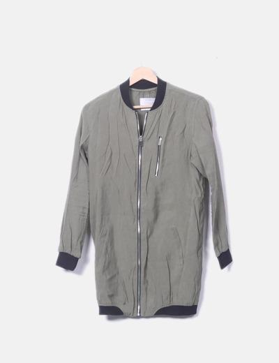Malha/casaco Bershka