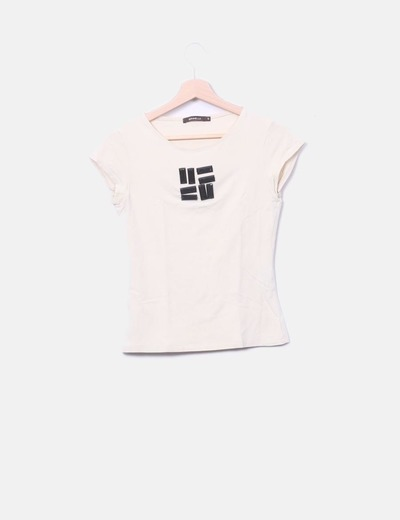 T-shirt Gonnella