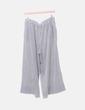 Pantalón culotte rayas negras Zara