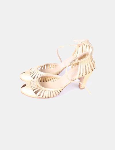 Zapatos cubanos dorados Farrutx