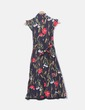 Maxi vestido floreado Suiteblanco