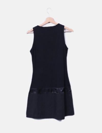 Vestido negro print girl