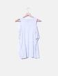 Camiseta blanca con hombros descubiertos Pull&Bear
