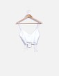 Crop top blanco Zara