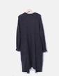 Cárdigan tricot gris Pull&Bear