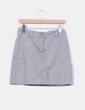 Falda gris deportiva Nike