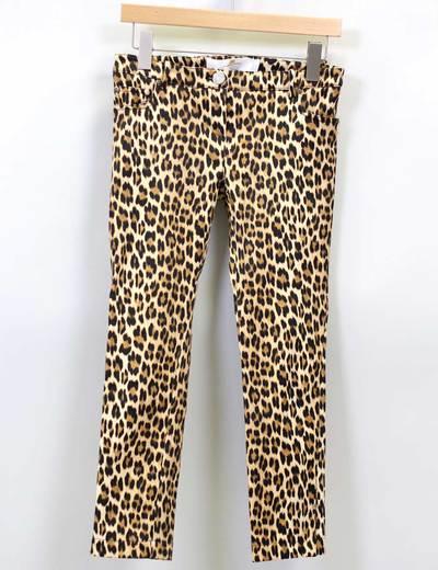 Pantalón print leopardo Elisabetta Franchi