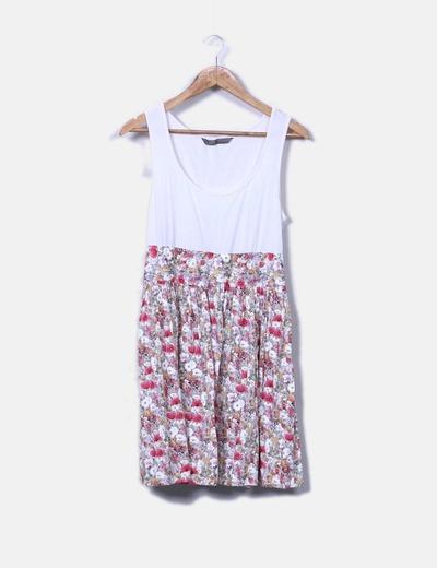 Vestido de tirantes floral
