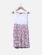 Vestido de tirantes floral Zara