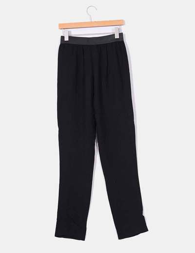Pantalon baggy negro
