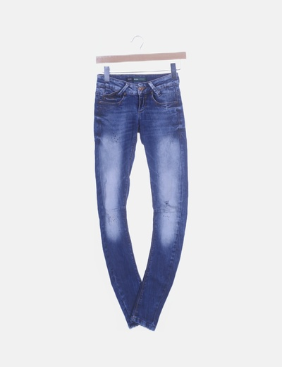 Jeans skinny combinados