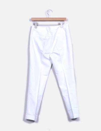 Pantalon chino blanco