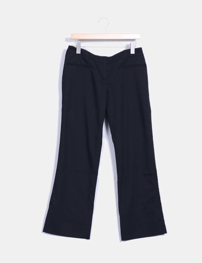 Pantalon noir droit Naf Naf