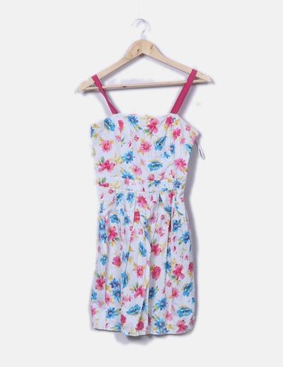 Vestido tirantes floral