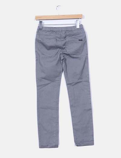 Jeggings denim gris