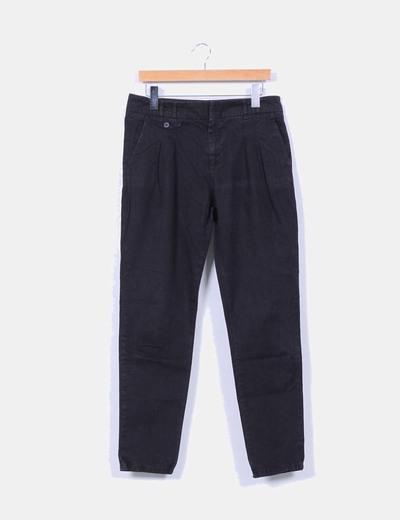 Pantalón baggy negro Zara