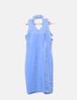 Vestido halter azul irisado NoName
